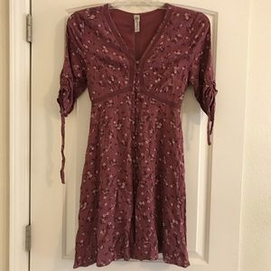 American Rag button down dress